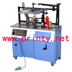 Electric Multi Purpose Flat Cylindrical Screen Printer,Automatic Flat Cylinder Screen Printing Machine