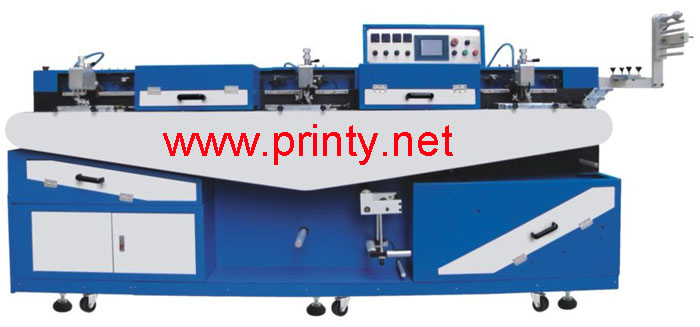 1~5 Color Mini Ribbon Screen Printing Machine,Fully Automatic Ribbon Screen Printer Machine,Fabric Satin Tape Belt Silk Screen Printing Equipment