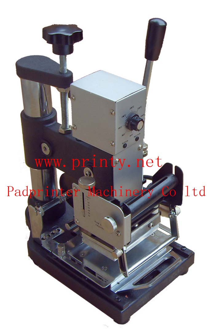 PVC Card Hot Stamping Machine | Credit Card Hot Stamping Machine | Membership Card Hot Stamping Machine | Mini Manual Hot Stamping Machine