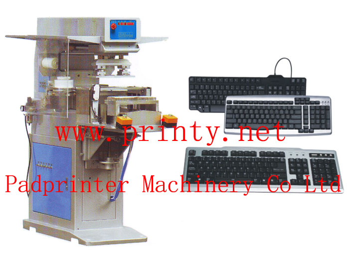 Keyboard pad printing machine,Automatic pneumatic keyboard pad printer machine equipment