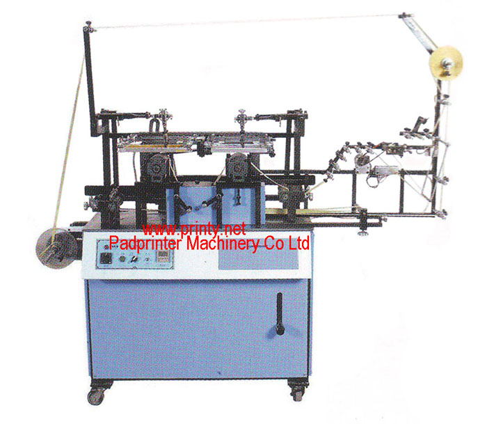 Fully Automatic Electrical 2 colors ribbon screen printer