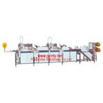 Ribbon screen printer,fully automatic 2 color ribbon screen printing machine equipment