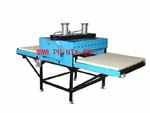 Large flat heat press machine,Pneumatic large fabric heat press transfer machine,Big flat bed heat press equipment,Large format shuttle heat transfer machine