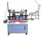 Automatic roll to roll 2 color ribbon screen printing equipment