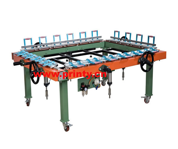 Screen tension machine,Pneumatic Screen Stretching Machine,High Quality Screen Stretche Equipment